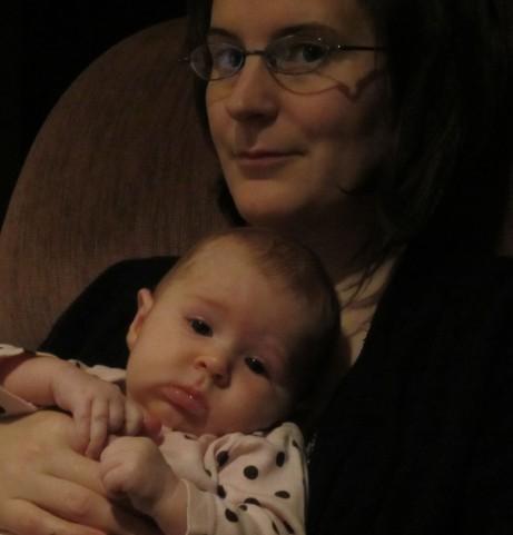 Sara and Johanna