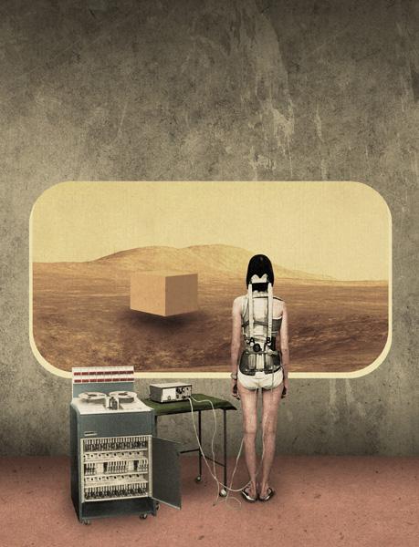 World Construction Kit, by artist Julien Pacaud