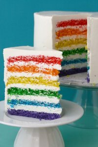 Rainbow Cake by Kaitlin Flannery